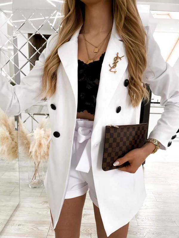 Set Elegant Komplet- white