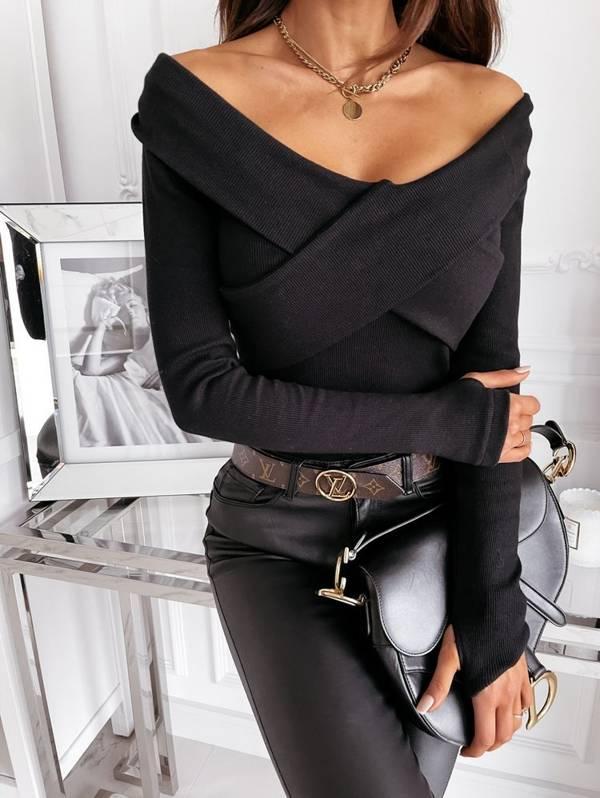 Bluzka Iliana black