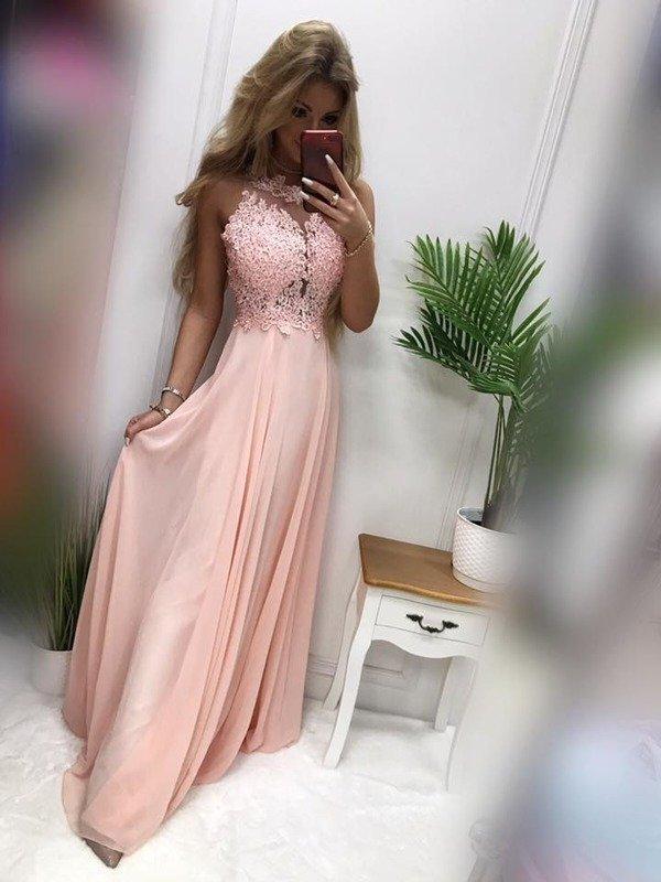 Długa Sukienka BUGATTI  - puder