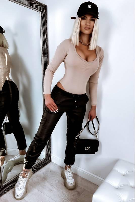 Spodnie  A'La Skóra Black