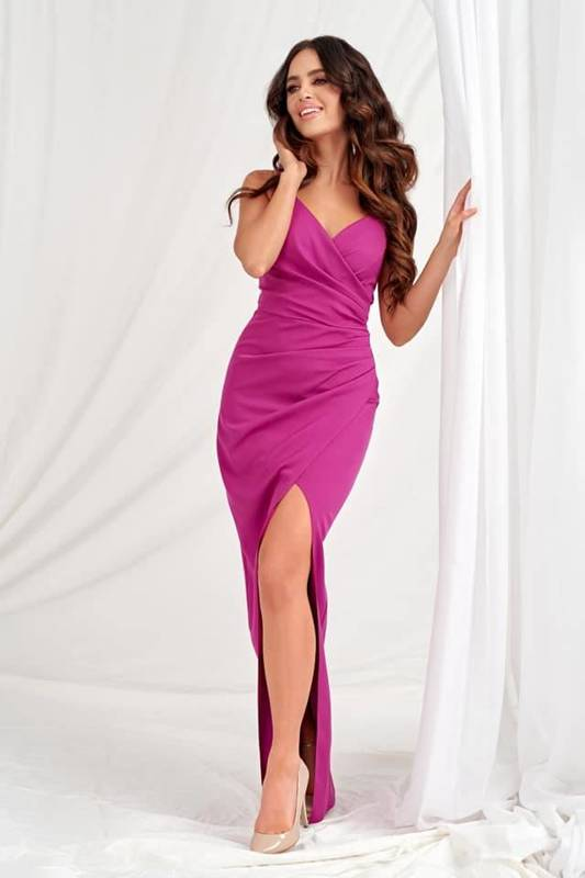 Sukienka Laura II- śliwka