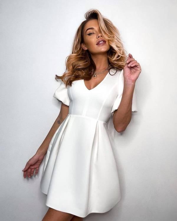 Sukienka Miranda- biały