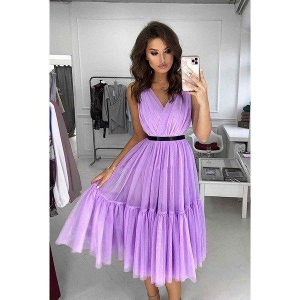 Sukienka Paris-lawendowy